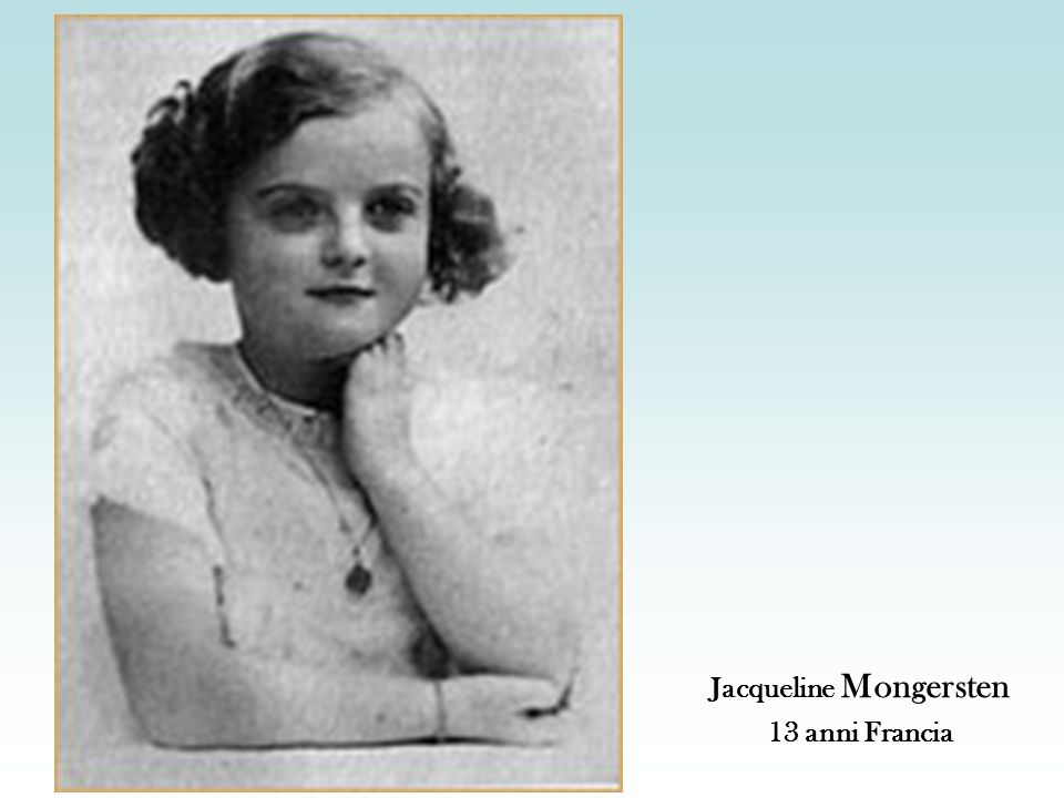 Jacqueline Mongersten