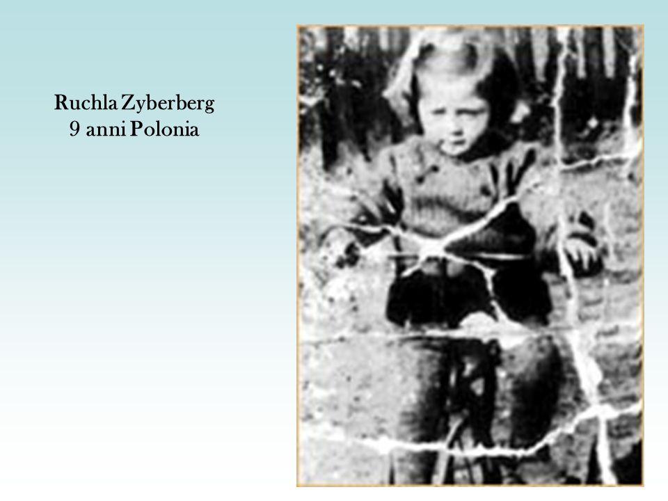 Ruchla Zyberberg 9 anni Polonia