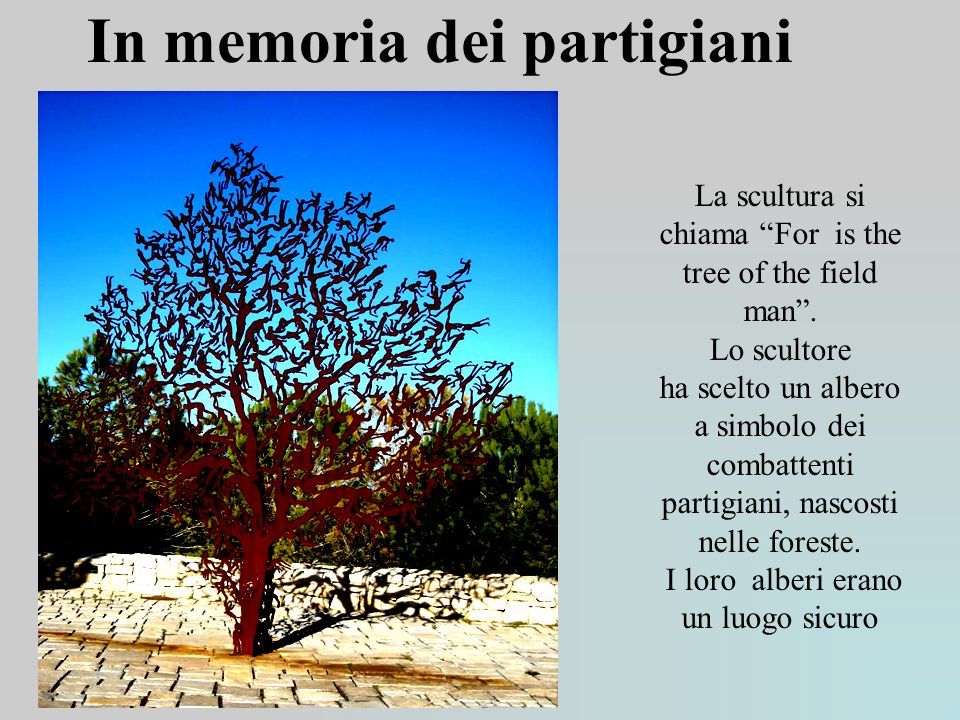 In memoria dei partigiani