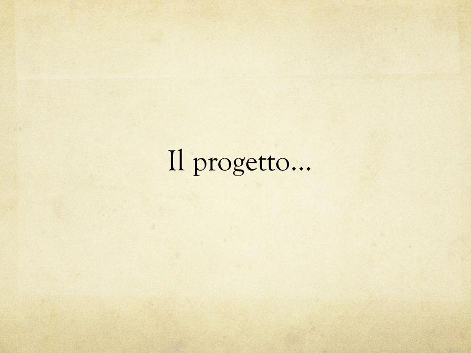 Il progetto…