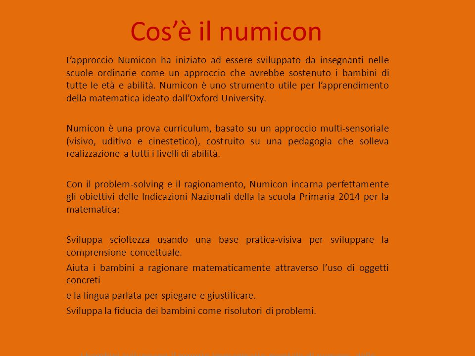 Cos'è il numicon