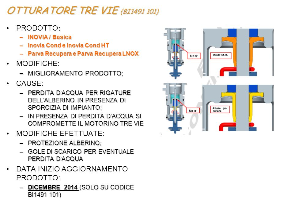 OTTURATORE TRE VIE (BI1491 101)
