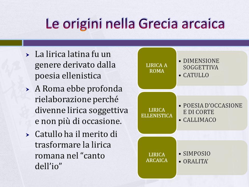 Le origini nella Grecia arcaica