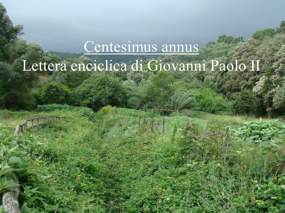 Centesimus annus Lettera enciclica di Giovanni Paolo II