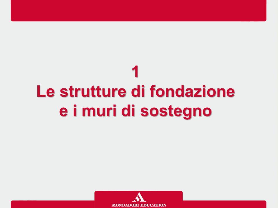 Le strutture di fondazione