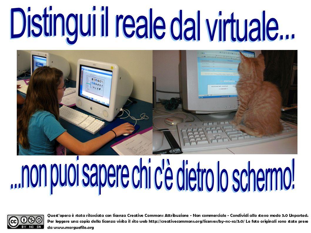 Distingui il reale dal virtuale...
