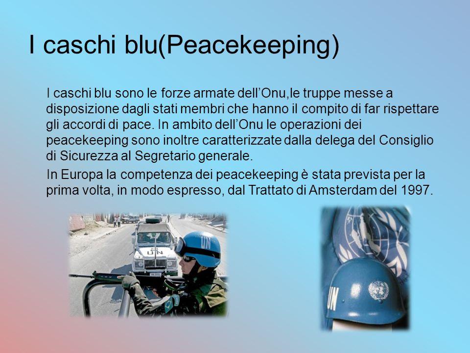 I caschi blu(Peacekeeping)