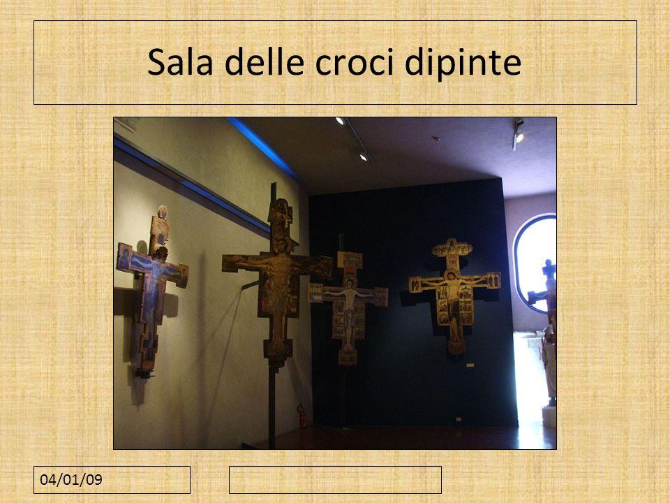 Sala delle croci dipinte