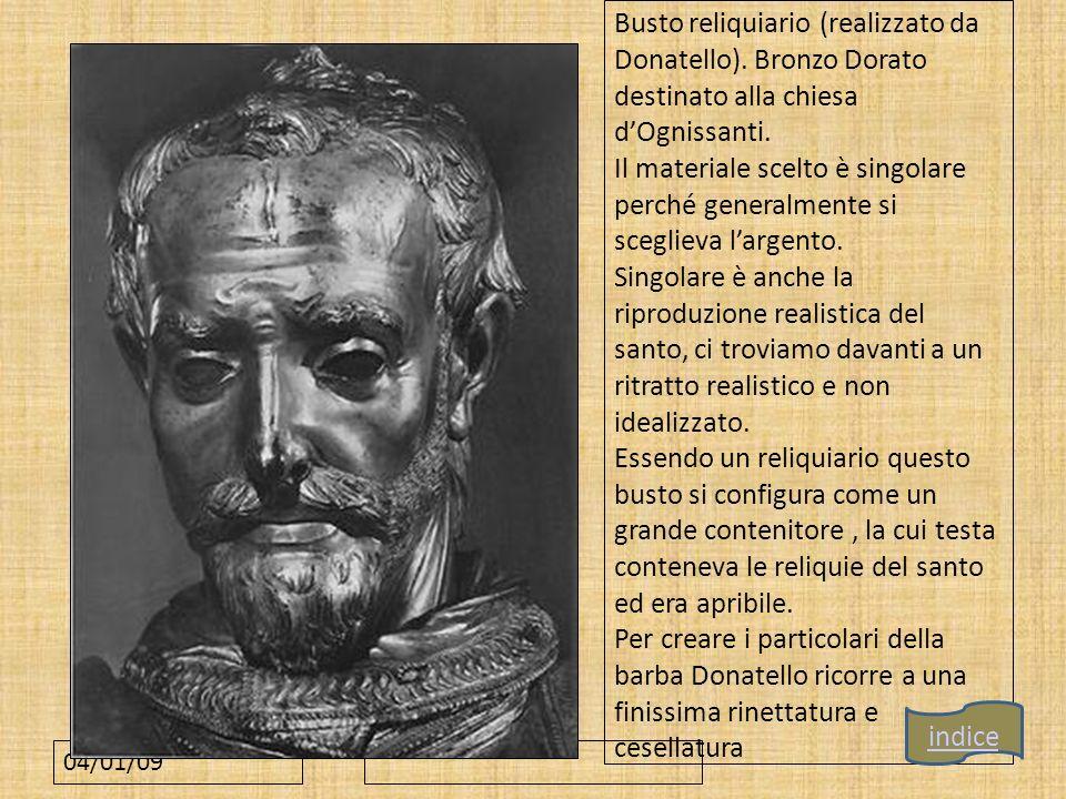Busto reliquiario (realizzato da Donatello)