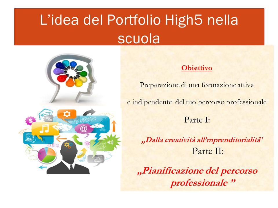 L'idea del Portfolio High5 nella scuola