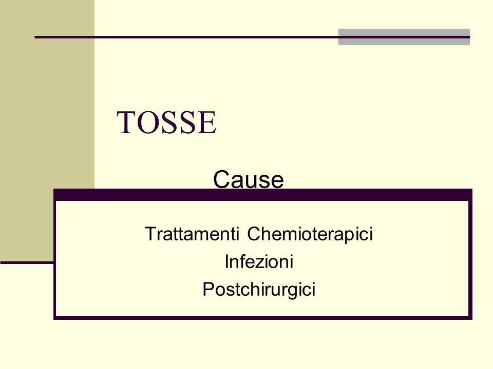 Trattamenti Chemioterapici Infezioni Postchirurgici