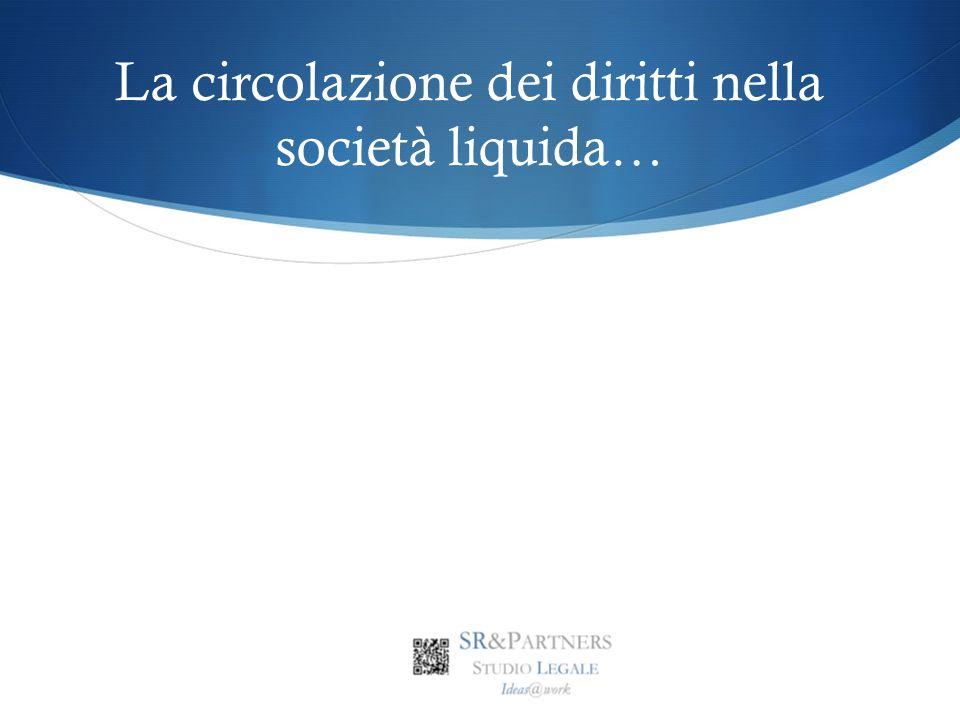 La circolazione dei diritti nella società liquida…