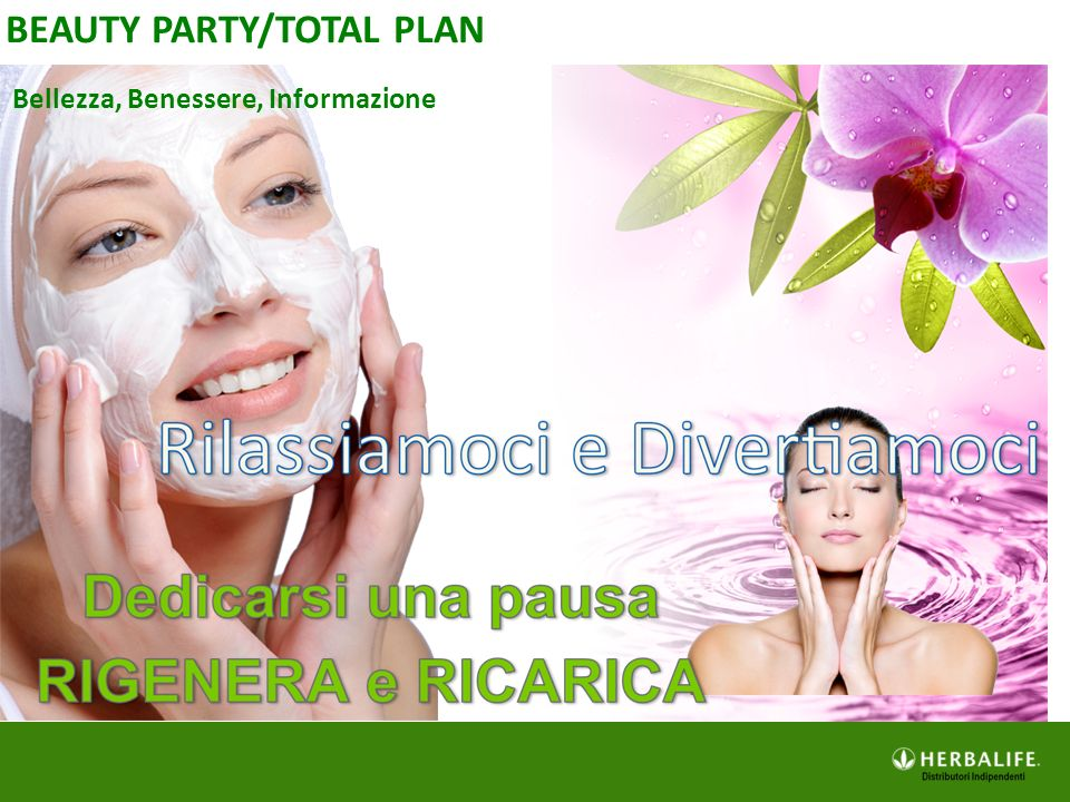 BEAUTY PARTY/TOTAL PLAN