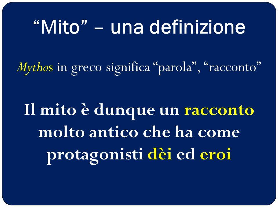 Mito – una definizione