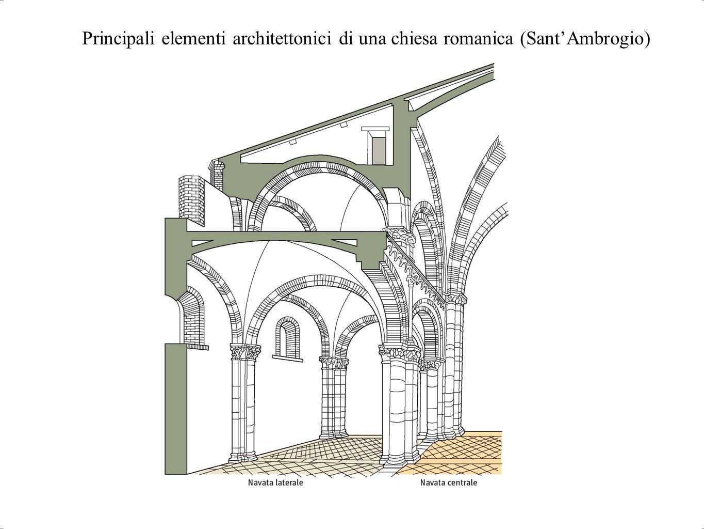 Arte romanica ppt scaricare - Elementi architettonici di una chiesa ...