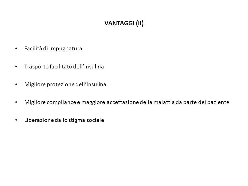 VANTAGGI (II) Facilità di impugnatura