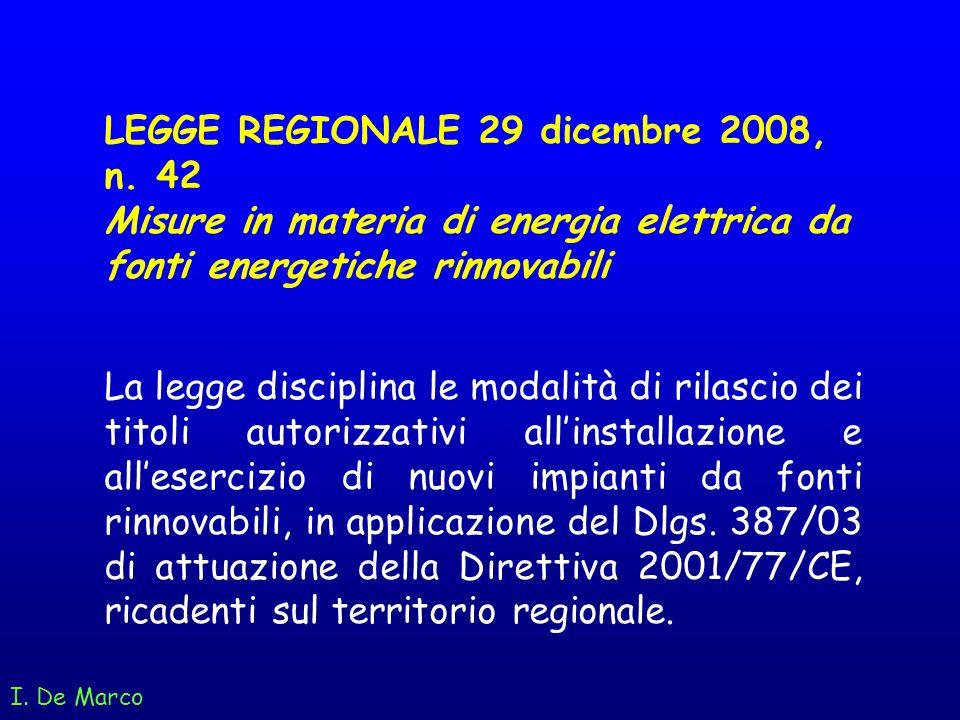 LEGGE REGIONALE 29 dicembre 2008, n