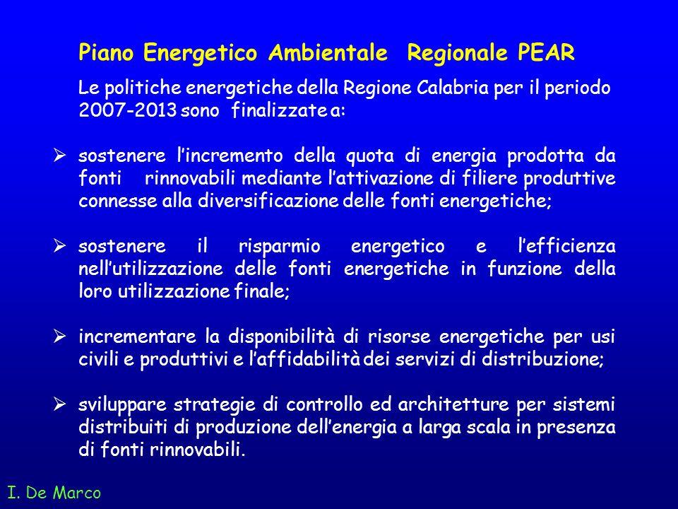 Piano Energetico Ambientale Regionale PEAR