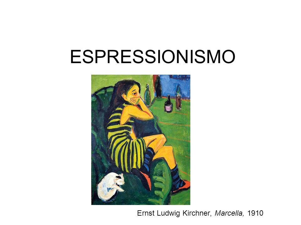 ESPRESSIONISMO Ernst Ludwig Kirchner, Marcella, 1910