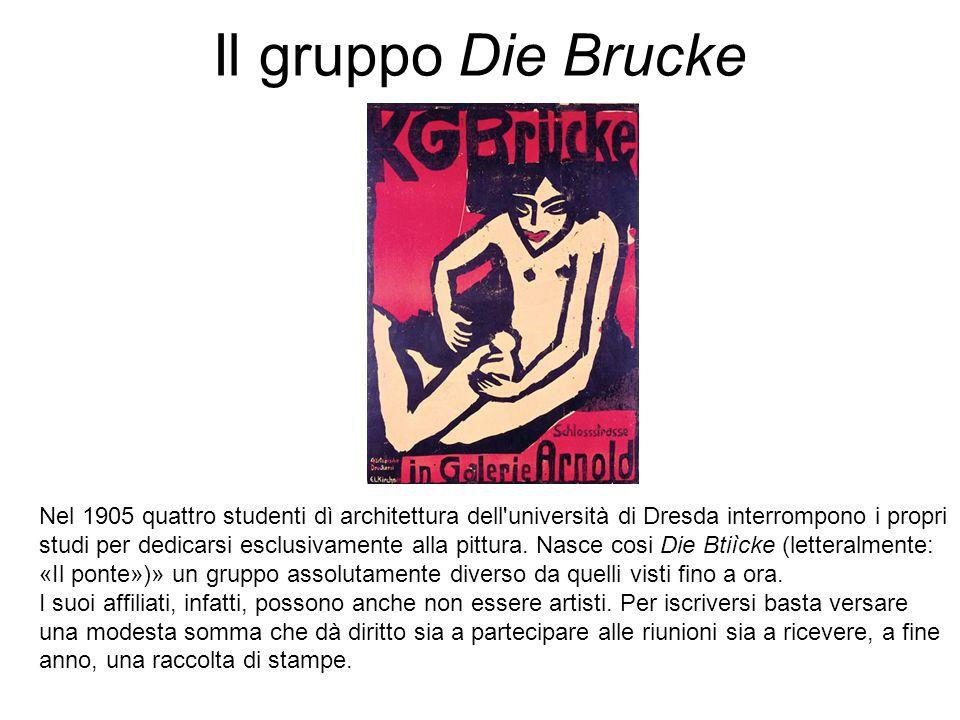 Il gruppo Die Brucke