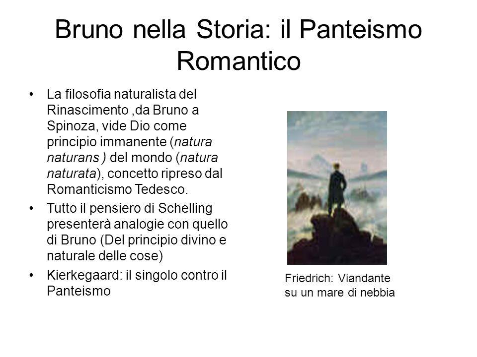 Bruno nella Storia: il Panteismo Romantico