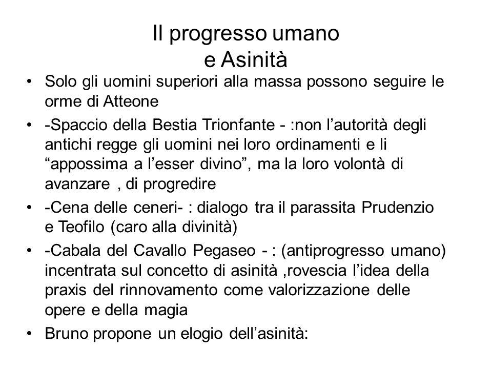 Il progresso umano e Asinità