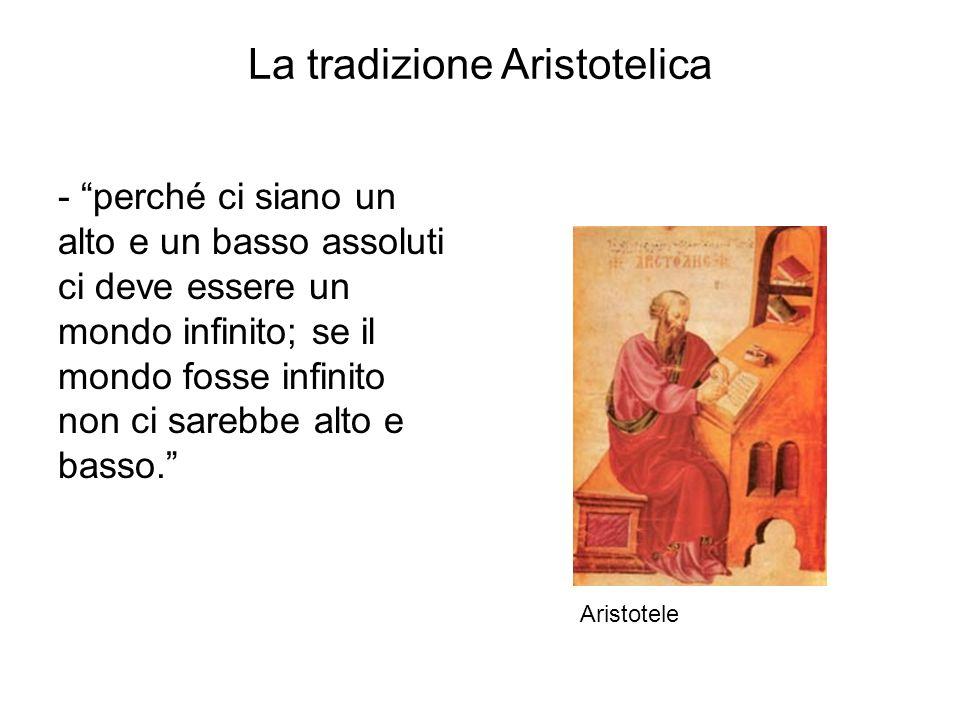 La tradizione Aristotelica