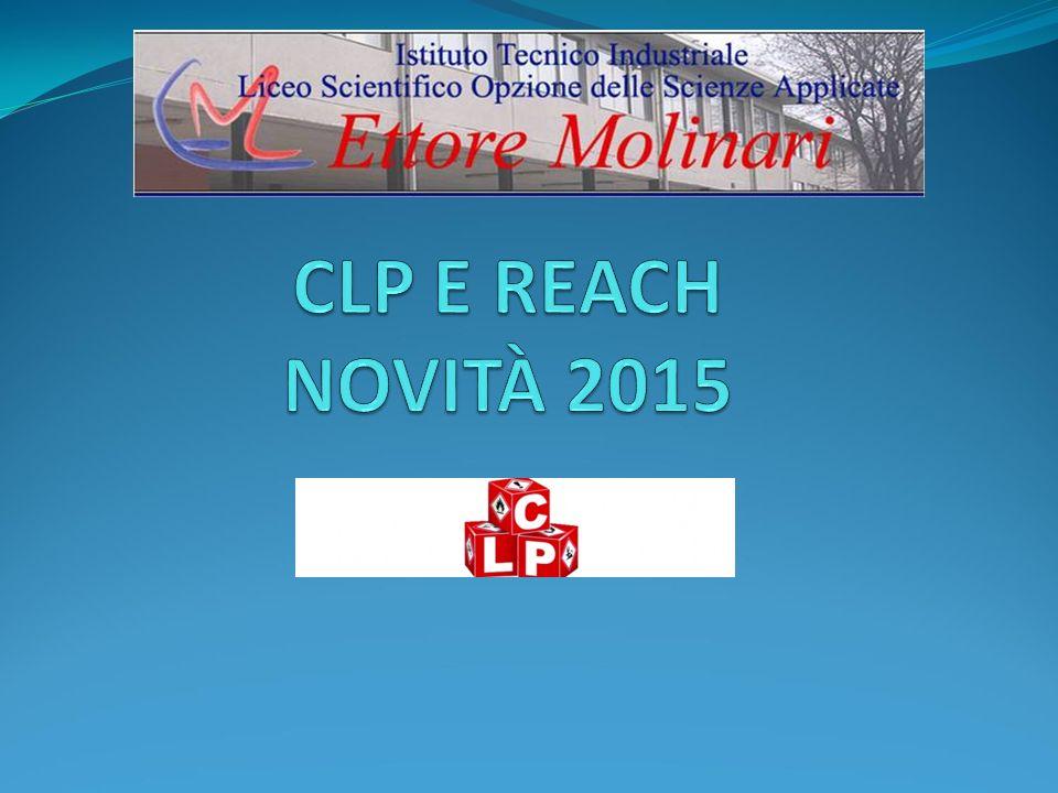 CLP E REACH NOVITÀ 2015
