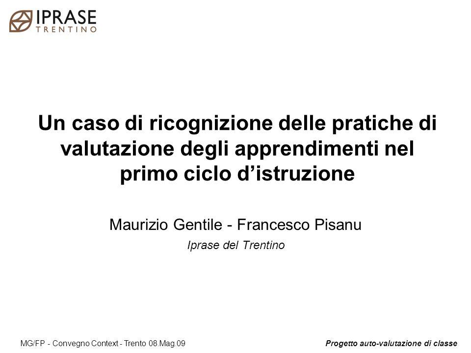 Maurizio Gentile - Francesco Pisanu Iprase del Trentino