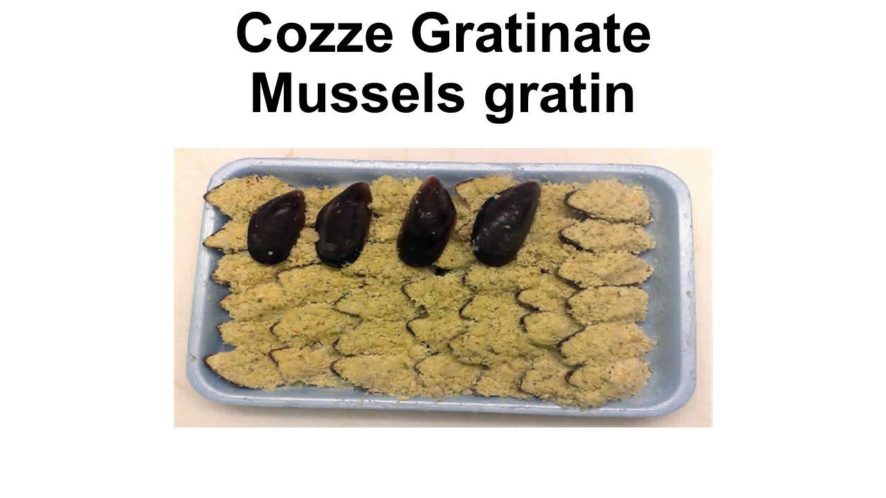 Cozze Gratinate Mussels gratin