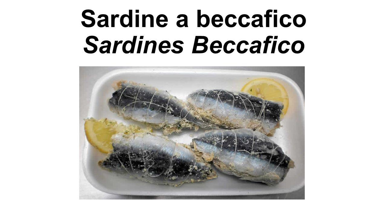 Sardine a beccafico Sardines Beccafico