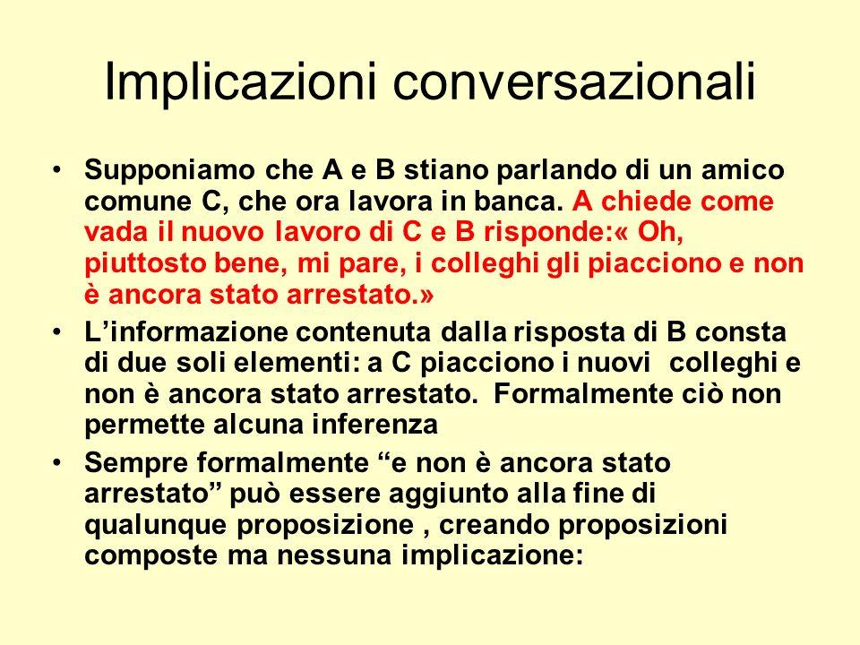 Implicazioni conversazionali