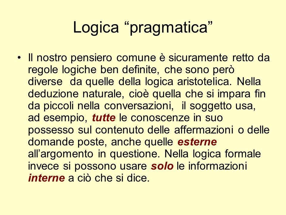 Logica pragmatica