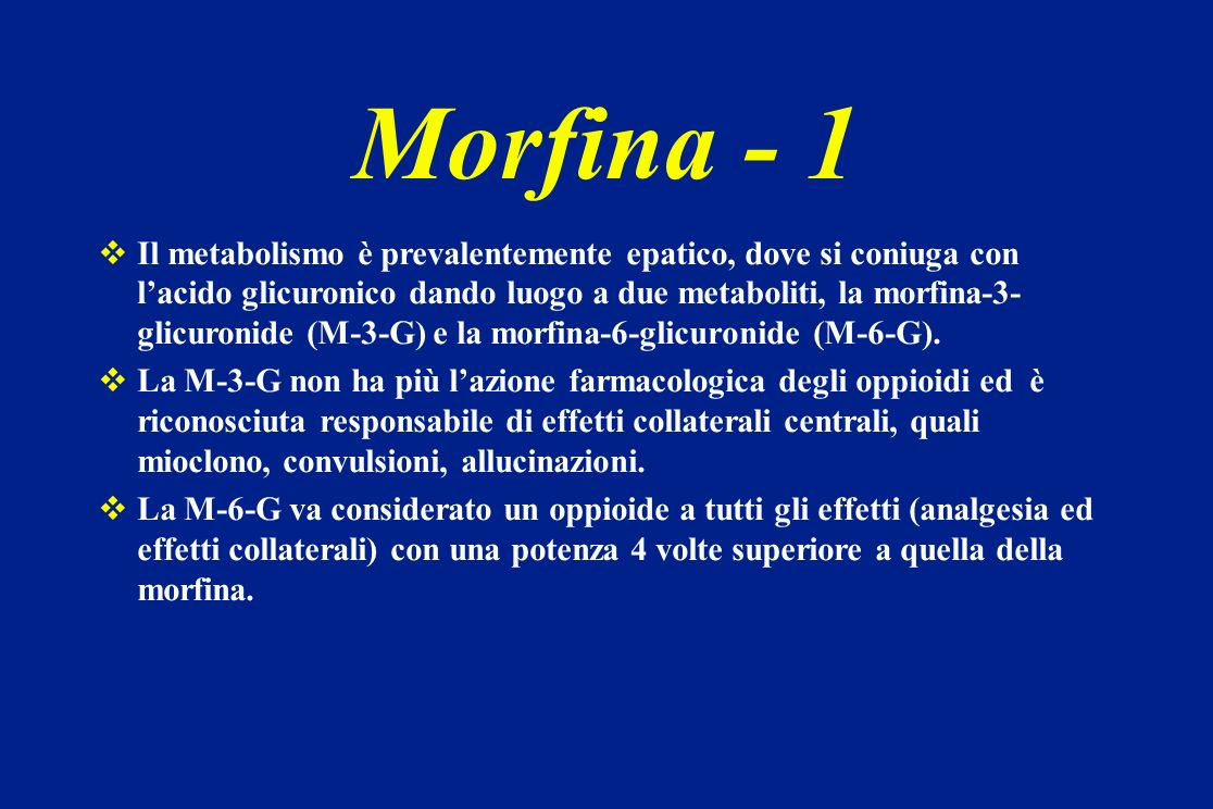 Morfina - 1