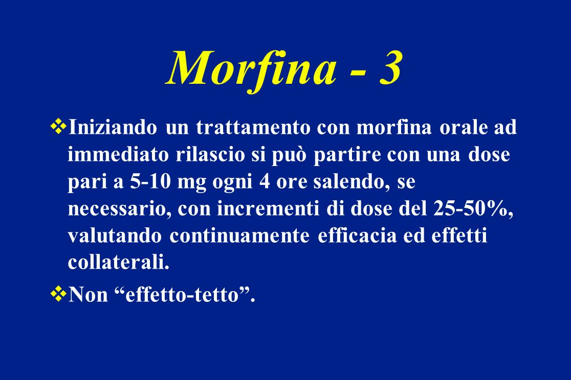 Morfina - 3