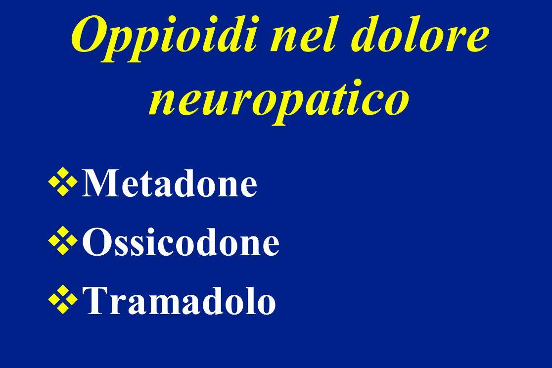 Oppioidi nel dolore neuropatico
