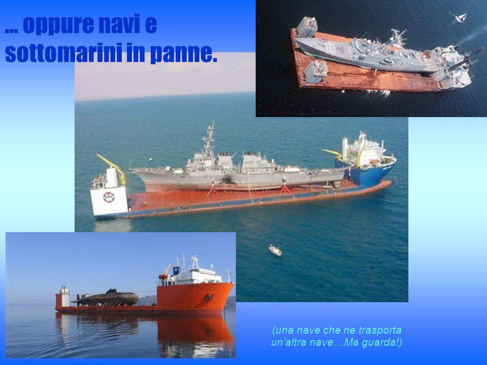 (una nave che ne trasporta un'altra nave…Ma guarda!)
