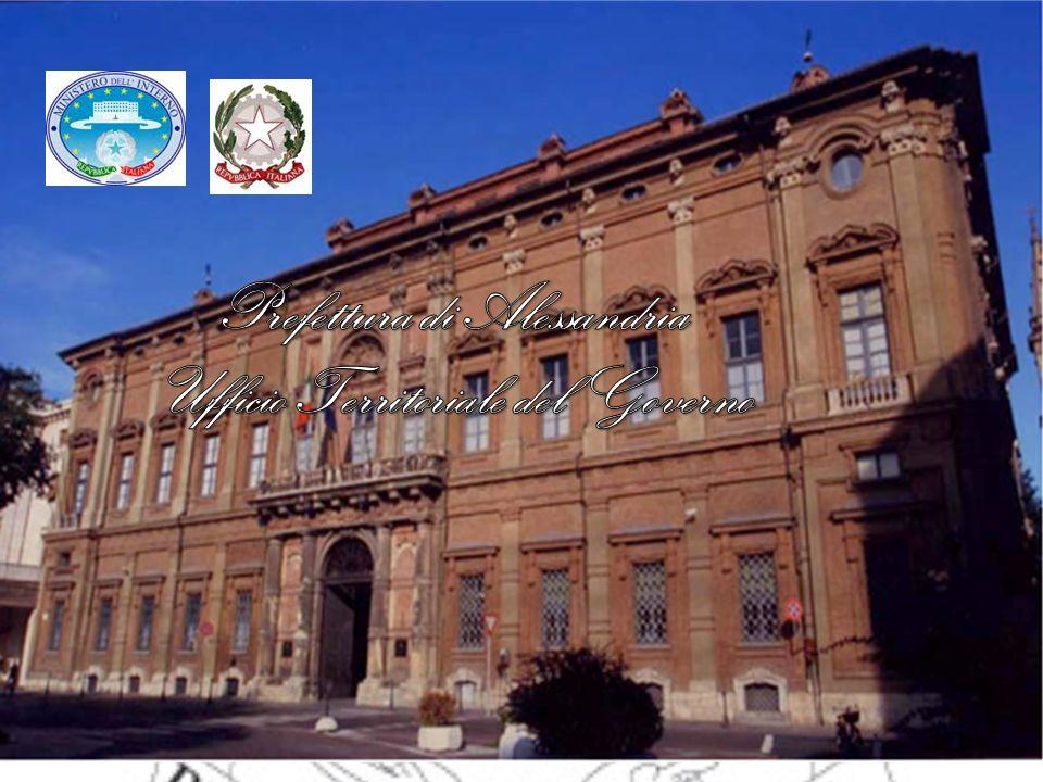 Prefettura di Alessandria Ufficio Territoriale del Governo