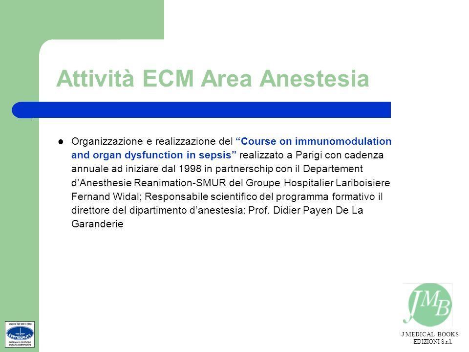 Attività ECM Area Anestesia