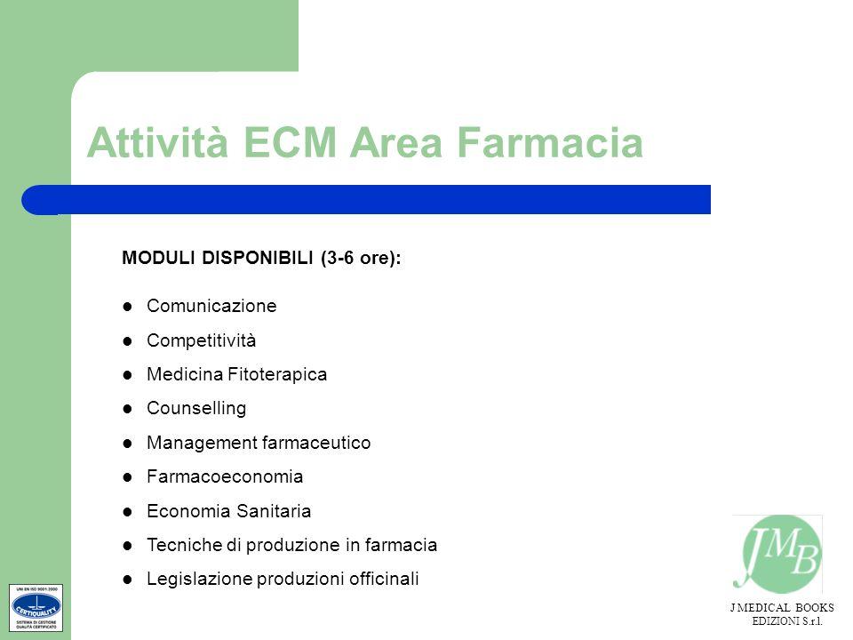 Attività ECM Area Farmacia