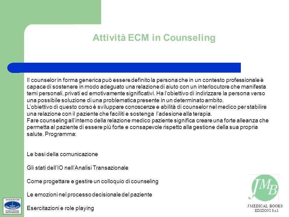 Attività ECM in Counseling
