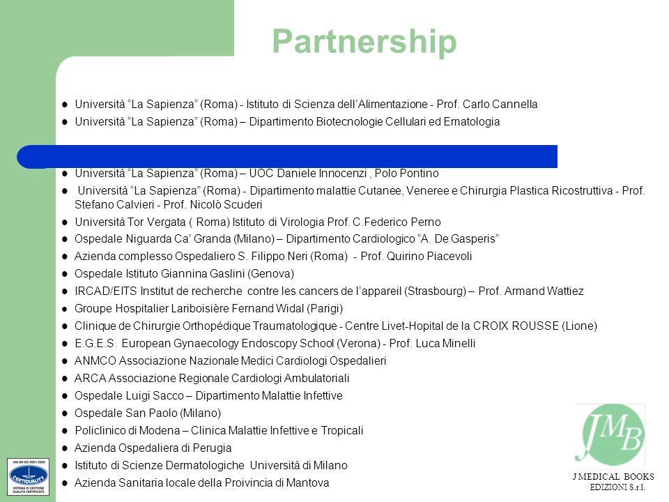 PartnershipUniversità La Sapienza (Roma) - Istituto di Scienza dell'Alimentazione - Prof. Carlo Cannella.