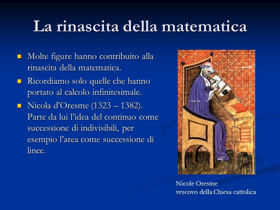 La rinascita della matematica