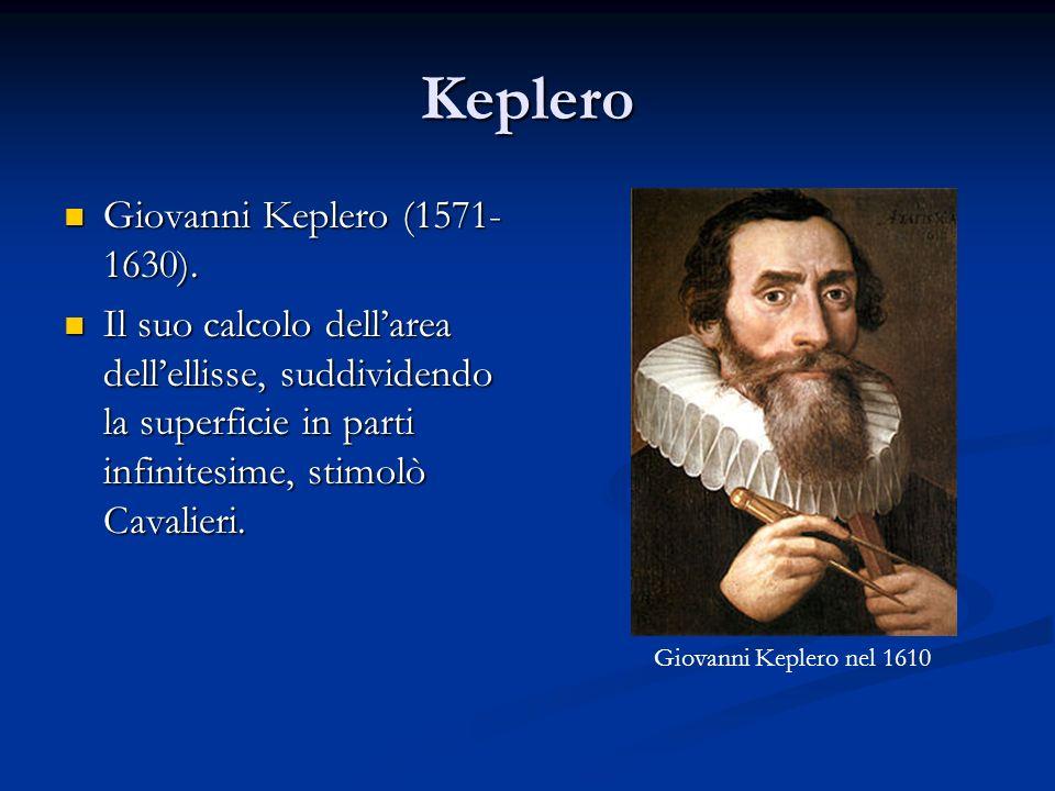 Keplero Giovanni Keplero (1571-1630).