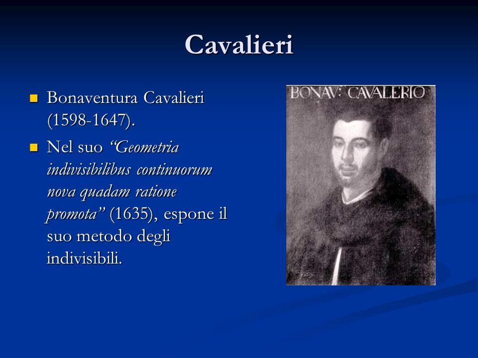 Cavalieri Bonaventura Cavalieri (1598-1647).