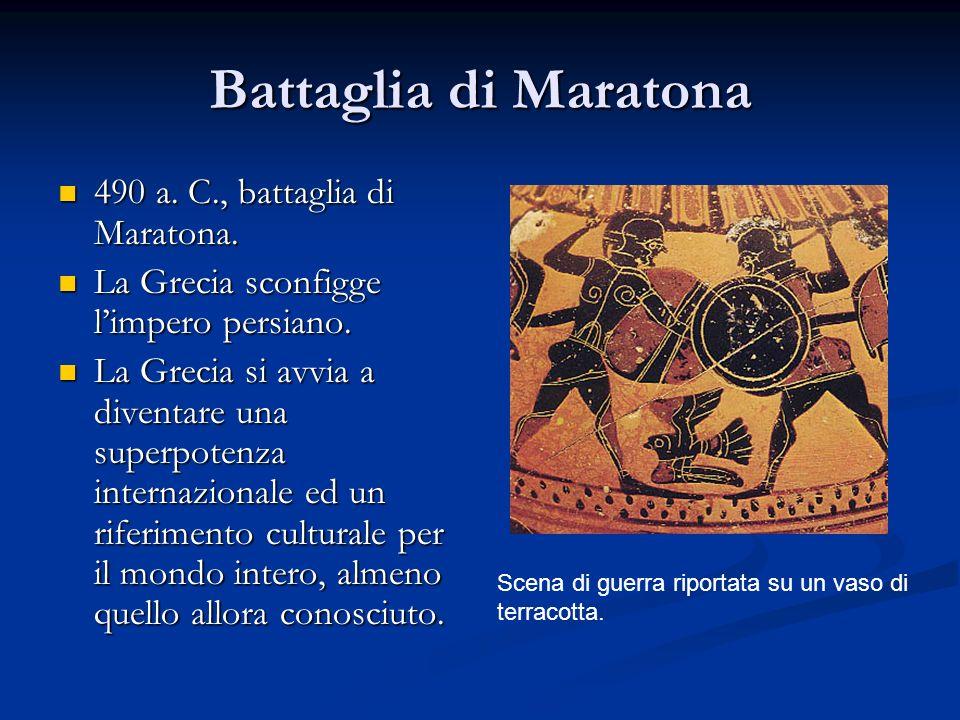 Battaglia di Maratona 490 a. C., battaglia di Maratona.