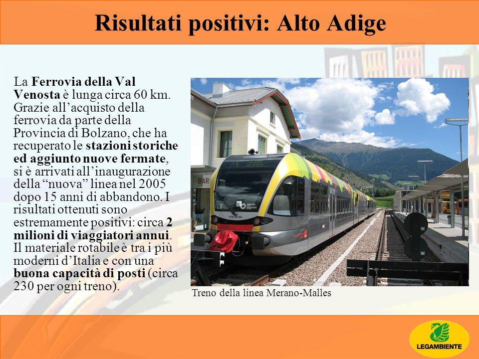 Risultati positivi: Alto Adige