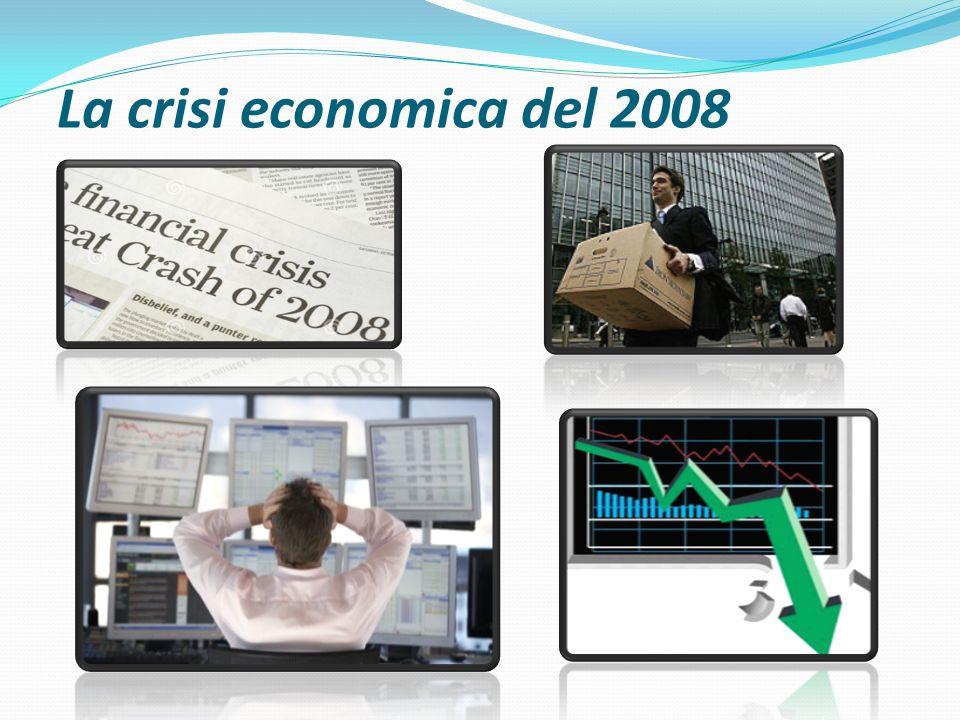 La crisi economica del 2008