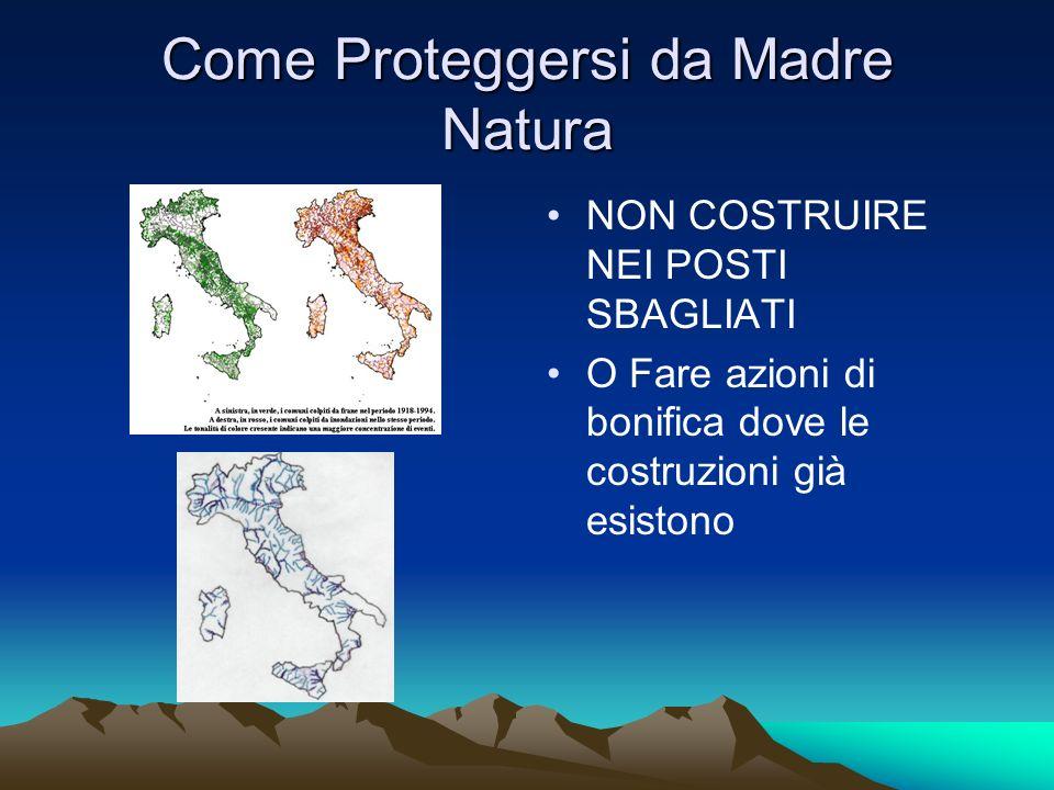 Come Proteggersi da Madre Natura