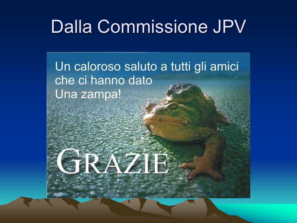Dalla Commissione JPV